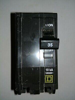 Square D Qo235 35 Amp 2 Pole 240 Volt 10kaic Circuit Breaker Free Shipping