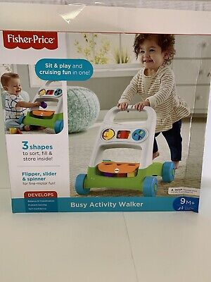 Brand New In Box Fisher Price Busy Activity Walker