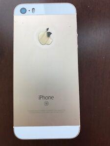 iPhone SE 16Go couleur gold en parfait état