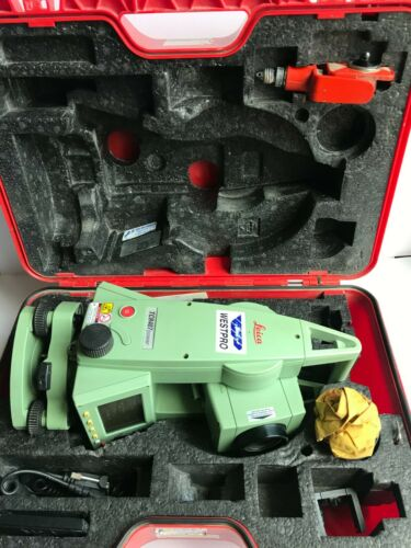 LEICA TCR407 POWER TOTAL STATION
