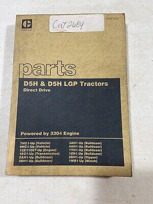 Cat D5h D5h Lgp Tractors Direct Drive Parts Manual