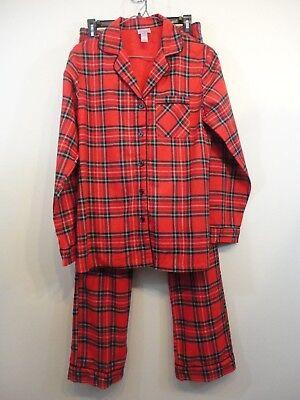 NEW! Wondershop Target Women's Plaid Christmas Pajama Set SZ XS Red Holiday