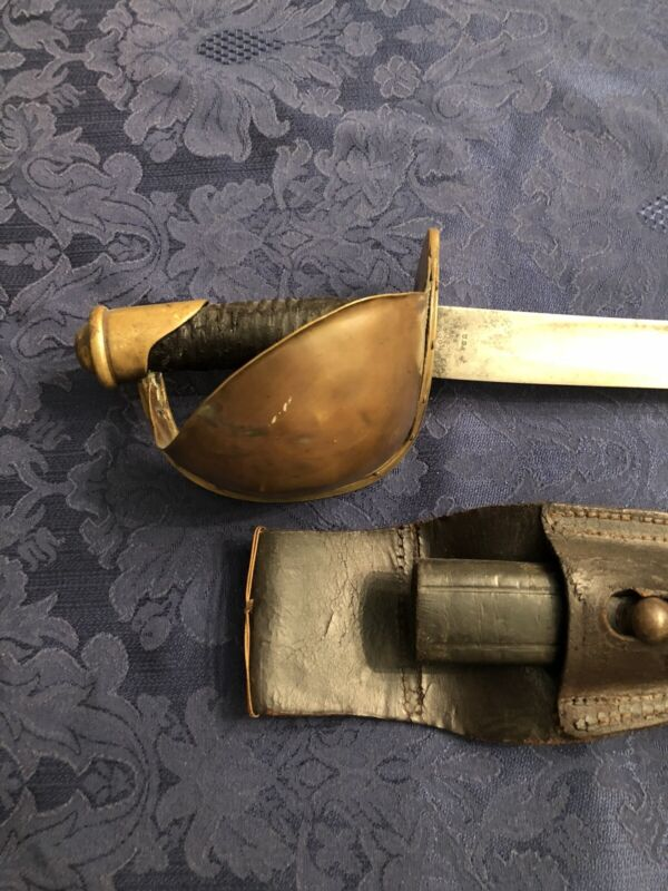 Ames Civil War Army Cutlass Sword Saber ADK Inspected