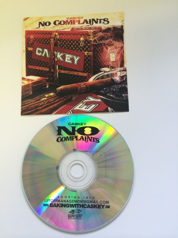 CASKEY CD No Complaints Mixtape Original Cover Before YMCMB Deal RARE