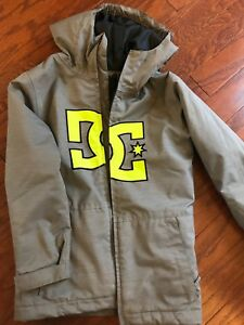 Boys DC winter jacket size small.