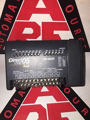 Automation Direct Direct Logic D0-05dr Koyo Plc Newest Firmware 5.40
