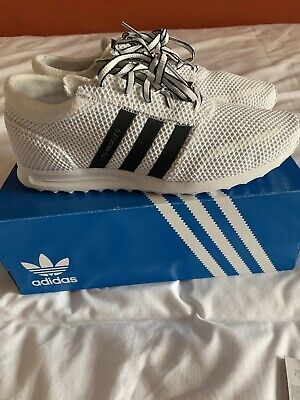 Mens Adidas Los Angeles Trainers Size 10 Worn Once In The Gym Look Brand New