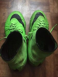Hypervenom soccer boots(cleats) and bag size 8.5