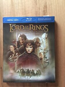 The Lord of the Rings - Fellowship of the Ring Blu-Ray