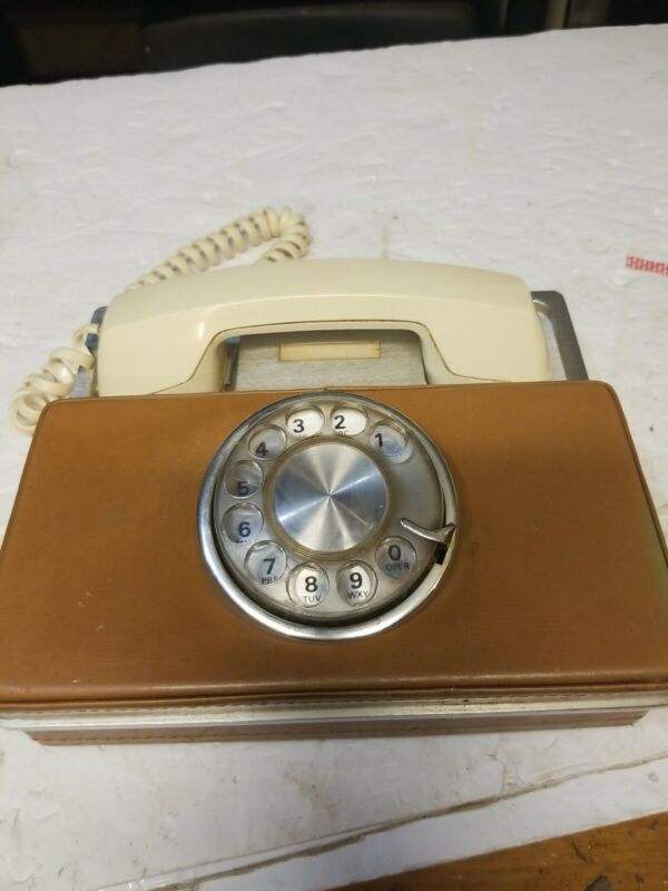 Western electric  leather Telephone