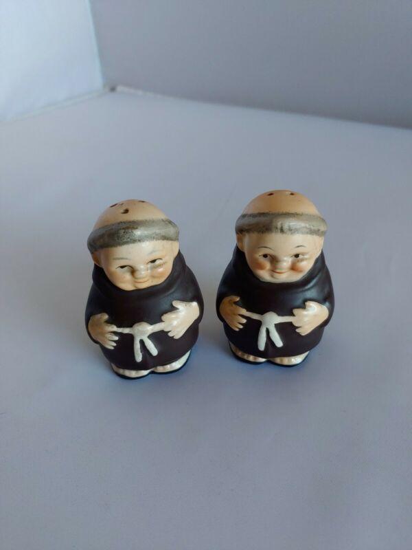Friar  Monk Salt & Pepper Shakers- Germany