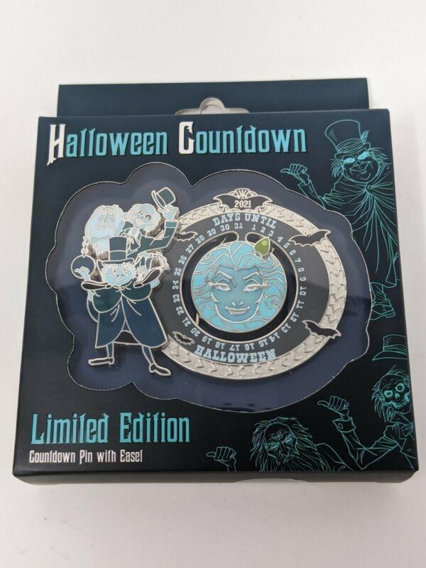 Disney Haunted Mansion Madame Leota Hitchhiking Ghosts Halloween 2021 Countdown