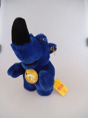 Steiff Nasevornhörnchen blau 20cm 352522 von 1991 (1257)