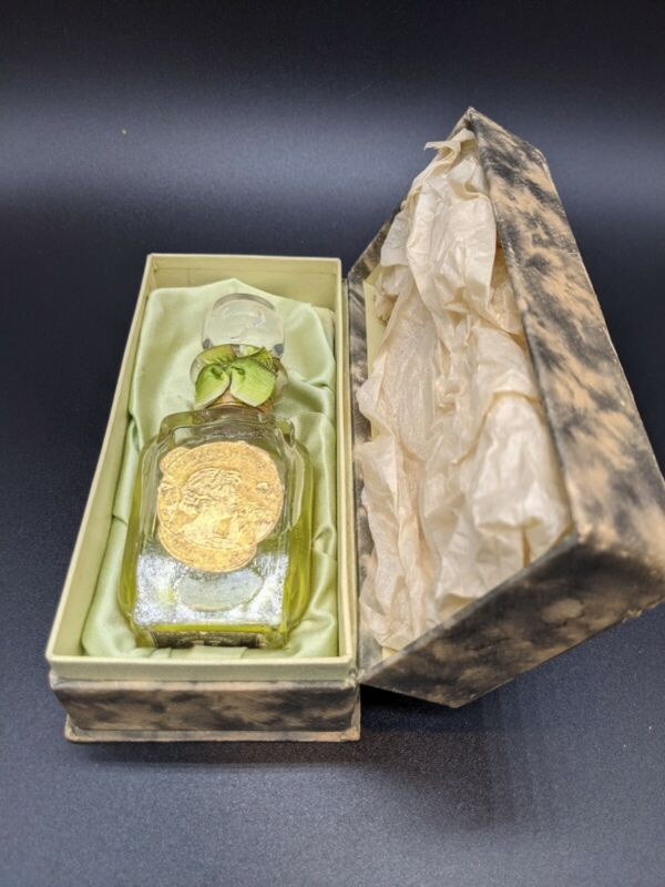 Antique Solon Palmer NY Lily Of The Valley Perfume In Box 1914 Stamp Sealed