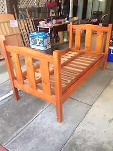 Single Bed Solid Timber Browns Plains Logan Area Preview