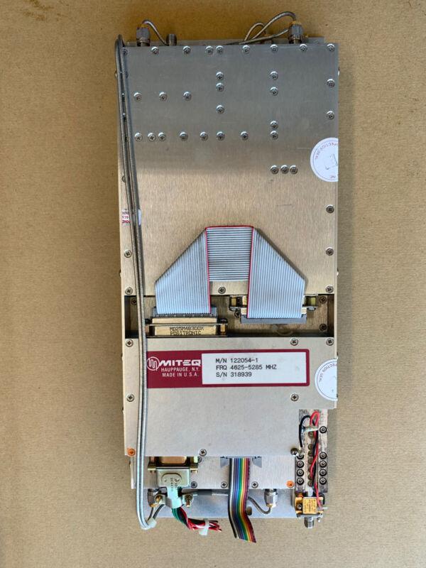 MITEQ Microwave Module 122054-1 SMA IF RF
