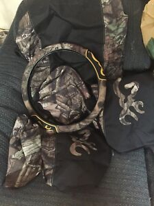 Camouflage Browning seat covers from Bass Pro Shops