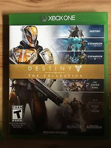 Destiny the collection 50$! xbox one