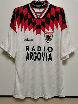 SIZE XL AARAU 1994-1995 HOME FOOTBALL SHIRT JERSEY image