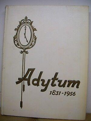 1956 Adytum Denison University (Granville, OH) Yearbook (Alum Richard Lugar)