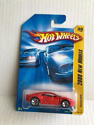 Hot Wheels 2008 New Models Ferrari GTO - Red - VHTF!