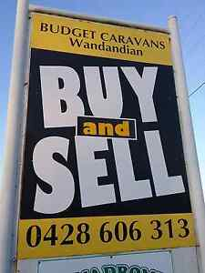 CARAVANS WANTED  POPTOPS AlWAYS.WANTED ph 0 Wandandian Shoalhaven Area Preview