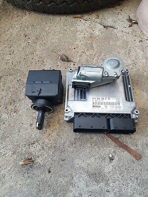 2004 Mercedes W203 C220 auto  diesel engine ECU kit ignition & key a6461504779