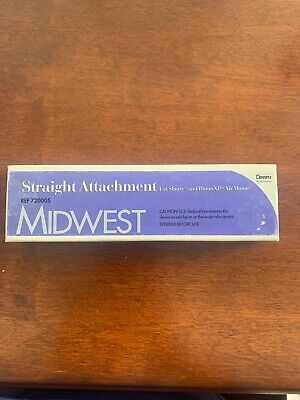 Midwest Straight Attachment For Shorty Rhino Motors - New With Box - 720005