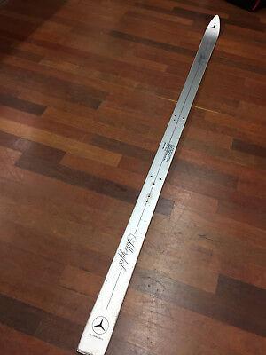 Mercedes Benz Silberpfeil Ski 190cm Rarität Einzelstück