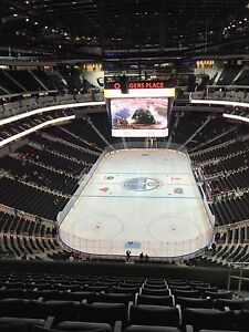 All Oilers Home Games - 4 seats