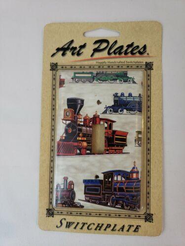 railroad locomotive light switch plate cover single
