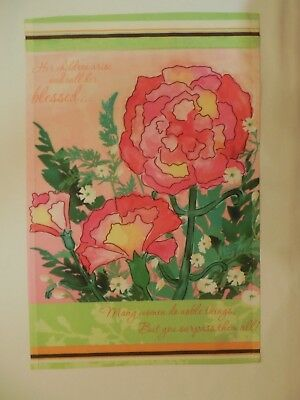 """""""Her children arise call her blessed...you surpass them all!"""" Mom Garden Flag"""