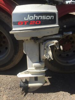 Johnson GT20 20hp outboard Thornlands Redland Area Preview