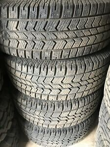 265/60r20 studded 10 ply winter tires on gm 8 bolt rims