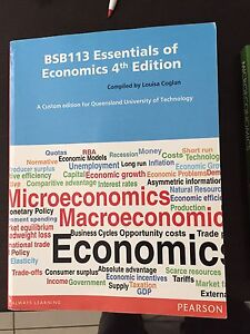 Economics text book for uni Albany Creek Brisbane North East Preview
