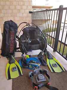 Scuba diving gear complete Cannington Canning Area Preview