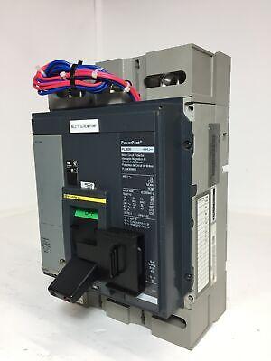 Square D Pll34060m68 Pl 600 Amp Powerpact Circuit Breaker 600a Trip Shunt Flaw