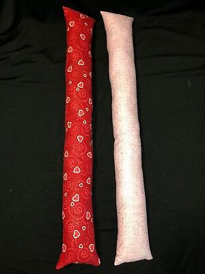 - 2 - 20 Inch Handmade Valentines Kicker Sticks Cat Toys WITH Organic Catnip #2