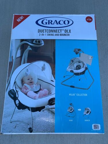 Graco® DuetConnect DLX Swing and Bouncer - Milan