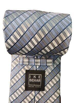 "Ike Behar Men's 56""x3.5"" Silk Tie USA"