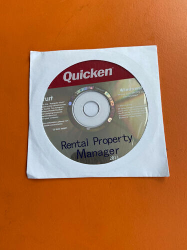 Intuit Quicken 2013 Rental Property Manager For Windows SEALED