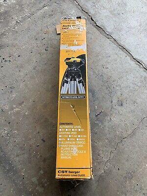 Cst Berger 24x Magnification 55-pal24d Automatic Pal Series Laser Level. 360