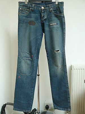 Very cool unique details Low rise slim fit Dsquared Jeans Sz 48
