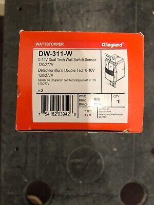 Legrand Wattstopper - Occupancy Sensing Wall Switchdimmer- White Dw-311-w