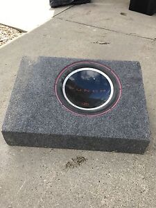 """Rockford Fosgate Punch P1 12"""" sub with box"""