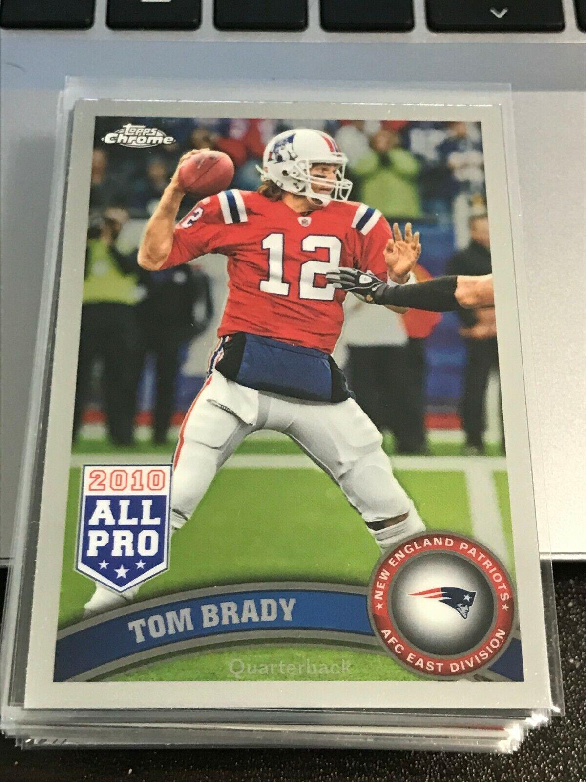 2011 Topps Chrome 20 Tom Brady Patriots Kc24 - $5.99