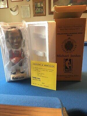 1994 Michael Jordan Bobbing Head Doll - Upper Deck Authenticated