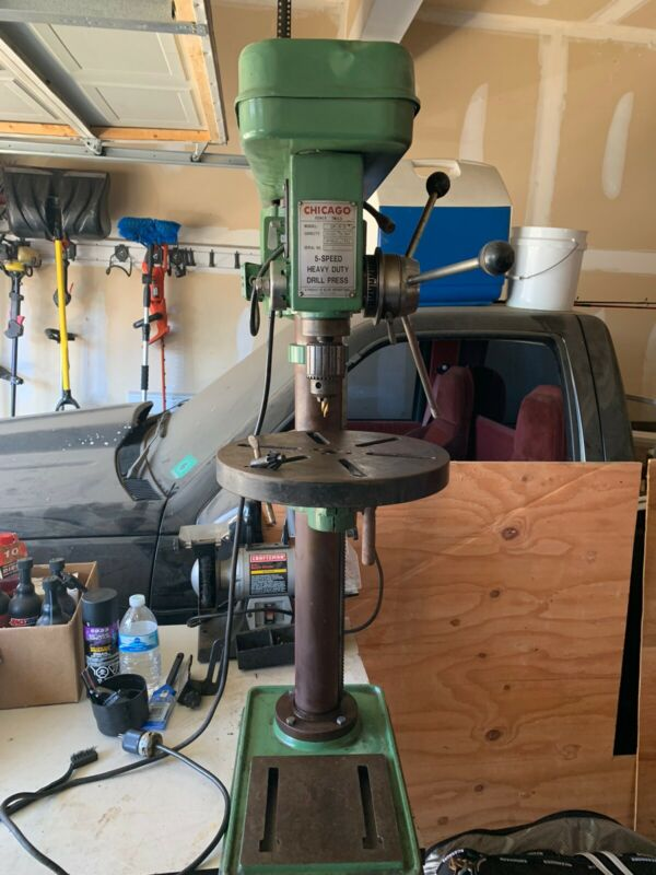 chicago electric Heavy duty drill press