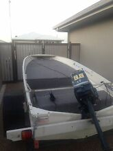 3.7m boat, outboard and trailer Kirwan Townsville Surrounds Preview
