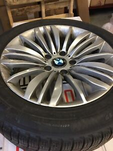 BMW Winter rims and tires Michelin 225/55R17 X-Ice